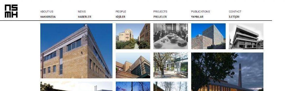 Nevzat Sayın Mimarlık Web Sitesi